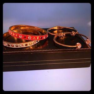 4 Kate Spade bracelet bundle